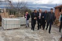 CENGIZ ERGÜN - Alaşehir Belediyesi'nden Delemenler Mahallesine Kilit Parke Taşı