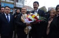 MAVI BONCUK - Bakan Kurum, Bigadiç Belediyesini Ziyaret Etti