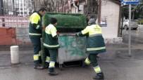 ÇÖP KONTEYNERİ - Çankaya'da 518 Bin Ton Çöp Toplandı