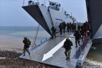 SOSYAL PAYLAŞIM - Deniz Kuvvetlerinden Ege Denizi'nde Nefes Kesen Tatbikat