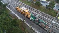 FLORYA - İstanbul'da tren kazası! 2 yaralı