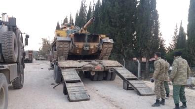 Hatay sınırına askeri tank sevkiyatı!