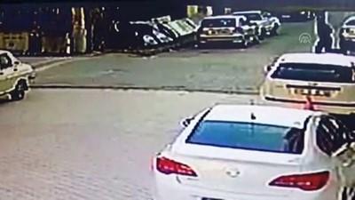 Hırsızlık Şüphelisinin Yakalanma Anı Kamerada