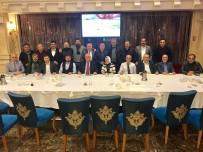 BISMILLAH - İstanbul Erzurum Dernekler Federasyonu Görev Dağılımı Yapıldı