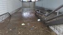 İZBAN'ın Pancar İstasyonunu Su Bastı