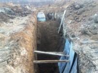 KANALİZASYON ÇALIŞMASI - Kahramanmaraş'ta Göçük 1 Ölü 1 Yaralı