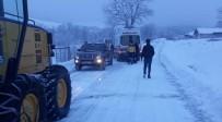 Kar Nedeniyle Ulaşılamayan Hastaya Yardım Eli
