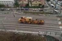 FLORYA - Kaza Yapan Demiryolu Aracının Görüntüleri Ortaya Çıktı