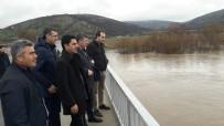 Kepsut'ta Vatandaşlar Dere Taşmasına Karşı Uyarıldı