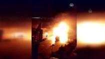 Kırklareli'nde Seyir Halindeki Minibüs Yandı