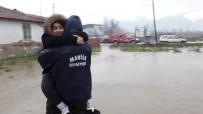 YAZILI AÇIKLAMA - Manisa'da Metrekareye 203 Kilogram Yağış Düştü