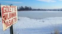 Kızılırmak 'buzdan nehir' oldu