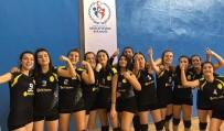 GENÇ KIZLAR - Voleybol Gençlerin Şampiyonu Çankırı Lisesi