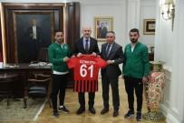 Yüksekova Belediyespordan Bakanlara Ziyaret