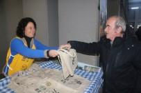 NAYLON POŞET - Cam Şişe Veya Kavanoz Getirene Bez Torba Hediye