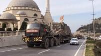 İskenderun Tren Garı'ndan Sınıra Tank Sevkiyatı