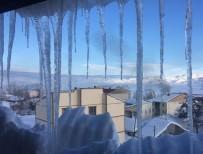 SOĞUK HAVA DALGASI - Karlıova 'Buz' Tuttu