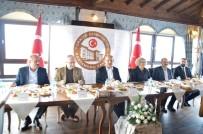 KASTAMONU ÜNIVERSITESI - Kastamonu Valisi Yaşar Karadeniz, Gazeteciler İle Bir Araya Geldi