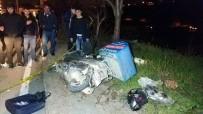 GÖZYAŞı - Motosikletli Kurye Son Siparişinden Dönerken Kazada Öldü