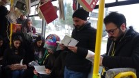 BATMAN BELEDIYESI - 'Okumayı' Otobüste Kitap Okuyarak Teşvik Ettiler
