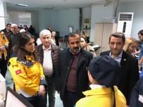 ŞİDDET YASASI - Sağlık-Sen Genel Başkanı Metin Memiş, Doktorun Saldırıya Uğradığı Hastaneyi Ziyaret Etti