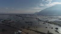 ÖĞRETMENEVI - Sular Altında Kalan Manisa Ovası Drone İle Görüntülendi