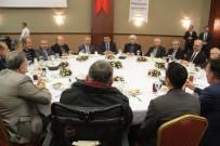 GAZETECILER GÜNÜ - Başkan Gürkan Basın Mensuplarıyla Bir Araya Geldi