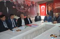 ÜNİVERSİTE KAMPÜSÜ - Başkan Serkan Acar'dan MHP Ve AK Parti Teşkilatlarına Ziyaret