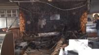KÜNEFE - Cinnet Getiren Şahıs Dükkanını Ateşe Verdi