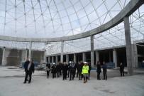 YUSUF ZIYA GÜNAYDıN - Günaydın, Isparta Şehirlerarası Terminal İnşaatını İnceledi