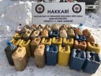 TAHKİKAT - Hakkari'de 980 Paket Sigara Ve 637 Litre Akaryakıt Ele Geçirildi