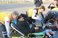 HELIKOPTER - Helikopter Akciğer Hastası İçin Havalandı