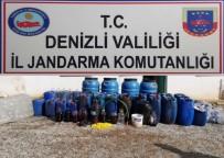Jandarma Baskın Yaptığı Evde Bin 100 Litre Kaçak Şarap Yakaladı