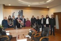 MUAMMER TÜRKER - Kent Konseyi Engeliler Meclisi, Afyonkarahisar Basın Yayın Derneği'ni Ziyaret Etti