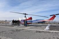 Kırşehir'de, Jandarma Ve Polis Ekiplerinin Katıldığı Helikopter Destekli Trafik Denetimi Yapıldı