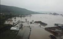 BOSTANCı - Pirincin Başkentinde Ova Sular Altında Kaldı