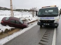 Sungurlu'da İki Ayrı Trafik Kazası