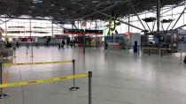 FRANKFURT - Almanya'da Havalimanı Güvenlikçilerinden Uyarı Grevi