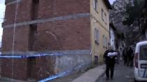 DEPREM - Amasya'da İstinat Duvarı Çöktü