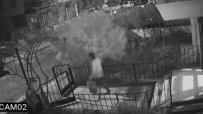 GÜVENLİK KAMERASI - Ayakkabı Hırsızı Kamerada