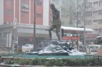 Bilecik'te Kar Yağışı Etkili Oldu