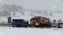 SARMAŞıK - Bilecik'te Yoğun Kar Yağışı