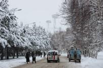HAVA SICAKLIĞI - Doğu'da Kar Ve Rüzgar Uyarısı