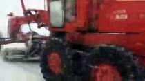 OTOBÜS SEFERLERİ - Ege'de Kar Etkili Oluyor