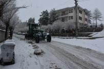 İnönü'de Karla Mücadele Çalışmaları