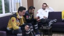 SAĞLIK ÇALIŞANLARI - Karda Kışta Vatandaşa 'Şifa' Olmaya Çalışıyorlar