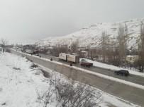 Kayseri- Malatya Karayolu Araç Ulaşımına Kapandı