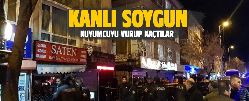 Ankara'da kuyumcu soygunu: 1 ölü