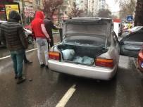 HÜKÜMET - LPG'li Araçta Çıkan Yangın Korkuttu