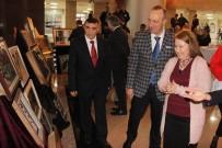 HALK EĞİTİM - Mahkumların Eserleri İzmir Adliyesinde Sergilendi